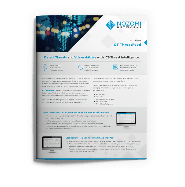 Guardian | Real-time ICS Cyber Security | Nozomi Networks