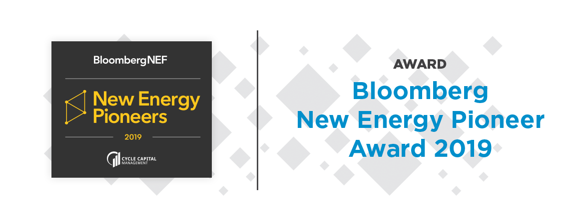 Nozomi Networks Wins Bloomberg New Energy Pioneer Award