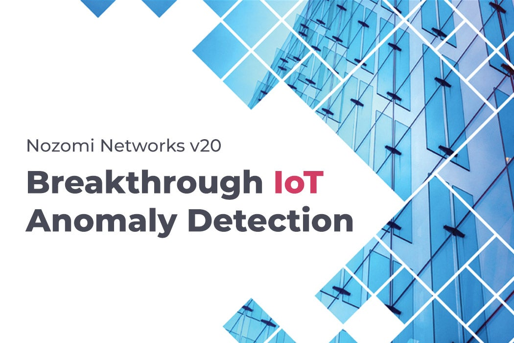 New Anomaly Detection Accelerates OT and IoT Security