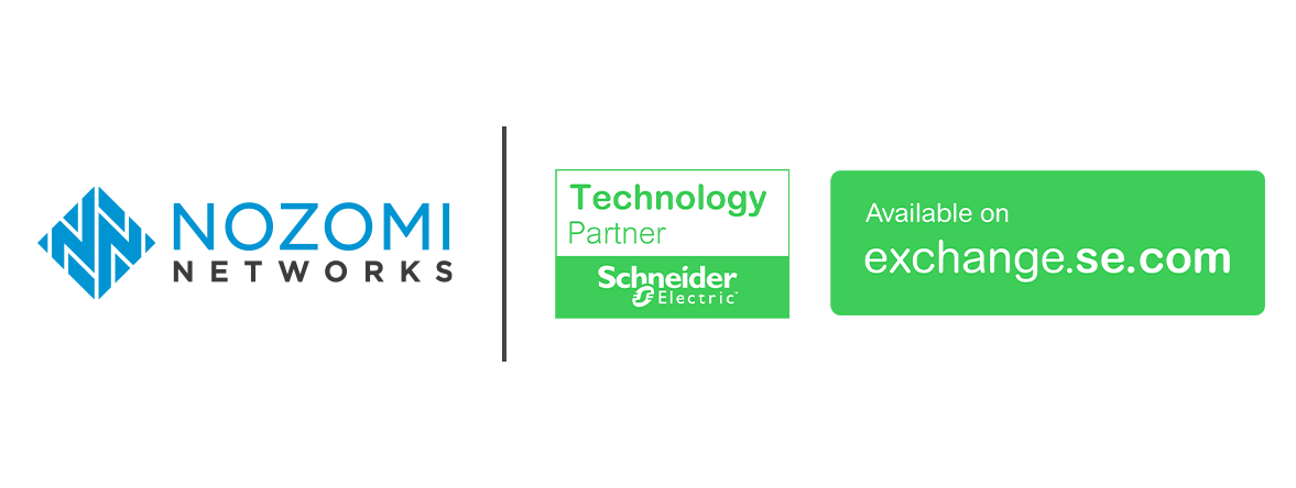Nozomi Networks Delivers OT & IoT Cybersecurity Via the Schneider Electric Exchange