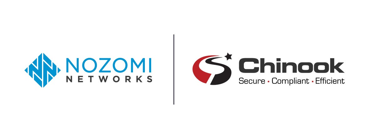 Nozomi Networks and Chinook Systems Team to Deliver OT & IoT Security Solutions for Industrial and Critical Infrastructure Facilities