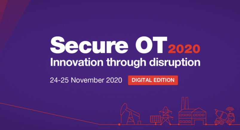 Secure OT 2020: Innovation Through Disruption