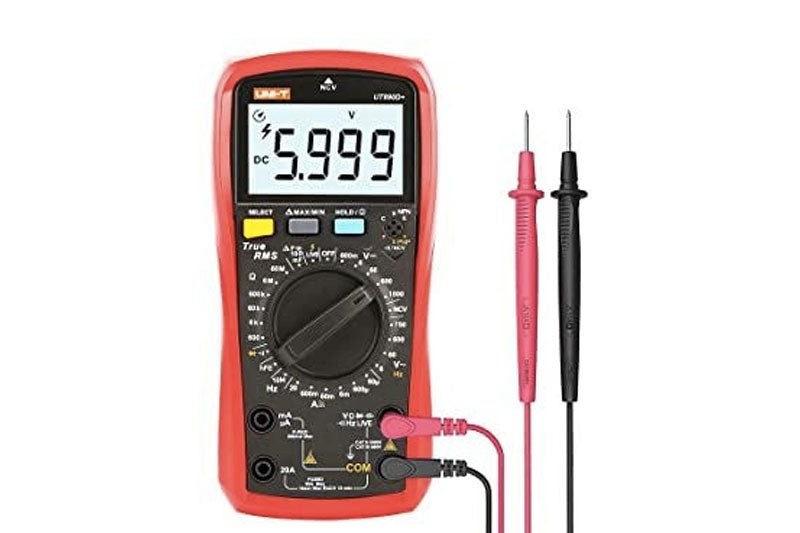 Fig. 6: Example of a portable multimeter