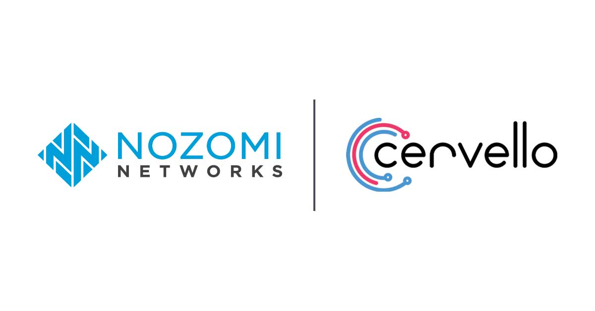 Nozomi Networks and Cervello Announce Partnership to Deliver Advanced Cybersecurity Solutions to Railway's OT, IT & IoT Environments